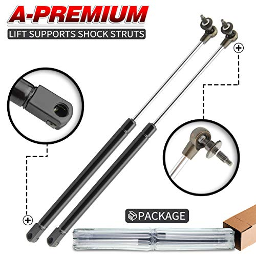 A-Premium Rear Window Lift Supports Shock Struts Replacement for Jeep Grand Cherokee WJ 1999-2004 2-PC Set
