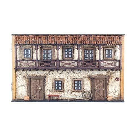 CAPRILO Tapa Contador Pared Decorativa de Madera Casa Antigua. Guardallaves. Cajas Multiusos. Decoración Hogar. Regalos Originales. 30 x 50 x 11 cm.