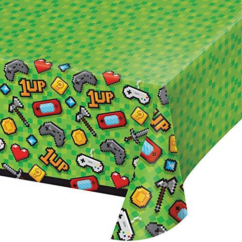 Creative Converting Kunststoff-Tischdecke, Bedruckt, 137,2 x 259,1 cm, 0,01 x 102 x 137,2 cm, Mehrfarbig