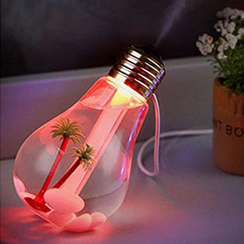 Highpot® Lamp Shape Decorative Lights USB Air 7 Colour Diffuser...
