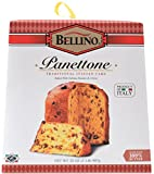 Bellino Traditional Italian Panettone Boxes, 32 Ounce