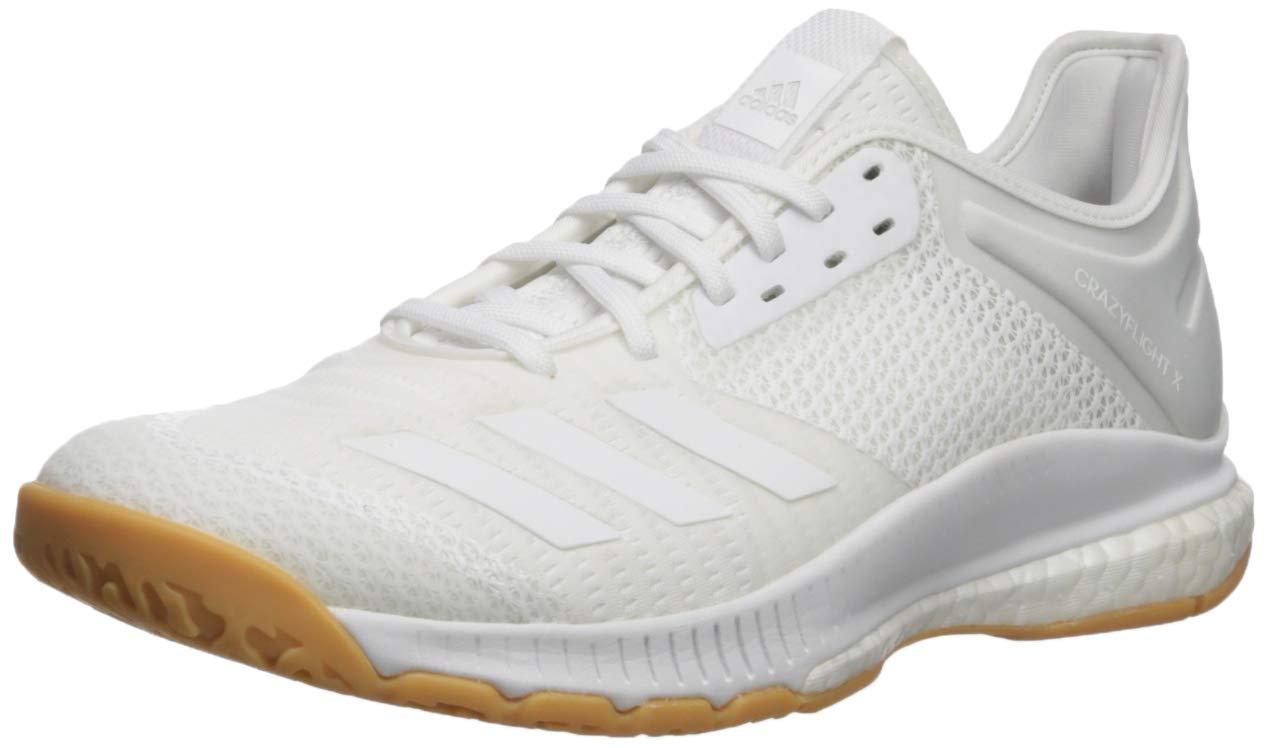 adidas Womens Crazyflight Volleyball White