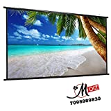 MOIZ Map Type Projector Screen Size (10 ft. (Width) x 8 ft. (Height)