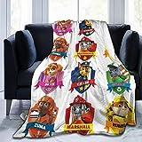 PAw Pat-Rol Ultra Soft Micro Fleece Blanket Warm Throw Blanket for Adults Kids
