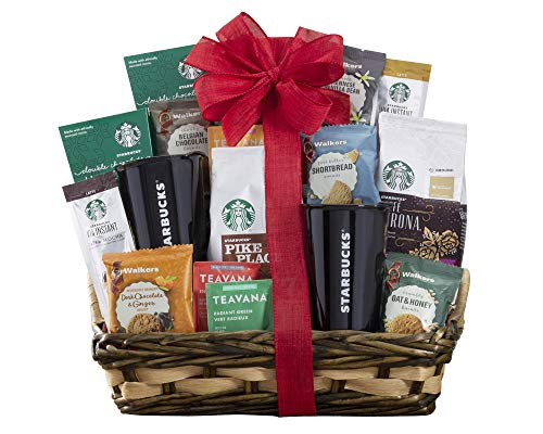 Starbucks Spectacular Coffee  and more Gift Basket by Wine Country Gift Baskets