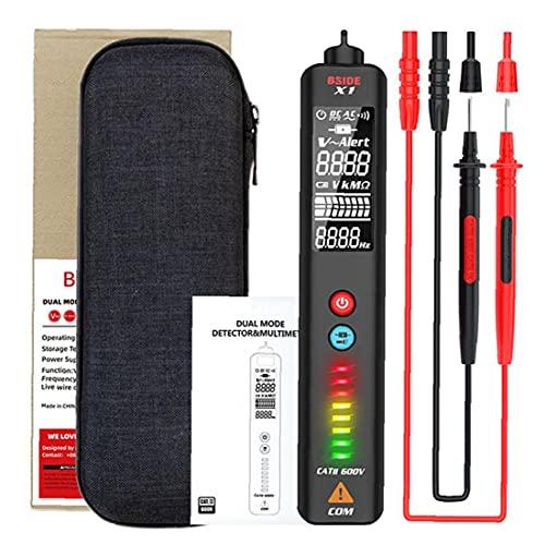 Bside X1 Multímetro digital LCD DIGITAL DIGITAL DOTAL MODO Detector Resistencia Tesor de frecuencia Herramienta operada a mano
