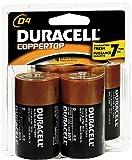 Duracell Coppertop D Alkaline Batteries 1.5 Volt 4...