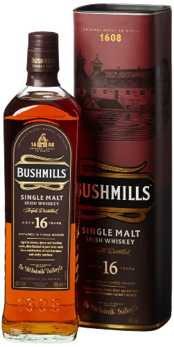 Bushmills 16 Jahre Single Malt Irish Whiskey (1 x 0.7 l)