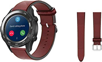 Leather Strap for Huawei Watch GT / 2 / Honor Watch Band 22mm