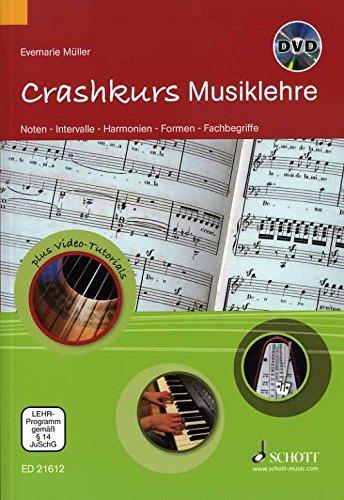 Crashkurs Musiklehre - arrangiert für Buch - mit CD [Noten / Sheetmusic] Komponist: Mueller Evemarie