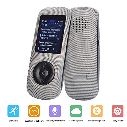 ASPIRING Instant Voice Translator Device Translation 45 Languages Smart 2 Way WiFi 2.4inch IPS Capacitive Touch Screen