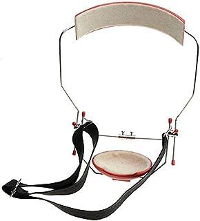 AZDENT Dental Orthodontic Instrument Reverse-Pull Headgear Adjustable Red Color