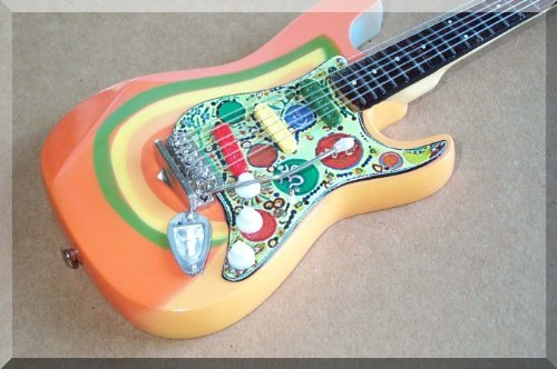 George Harrison miniatura de Rocky Beatles para guitarra Fender