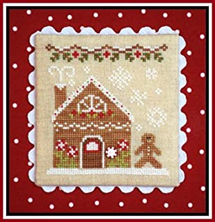 Gingerbread Village 4-Gingerbread House 2 Cross Stitch Chart Only