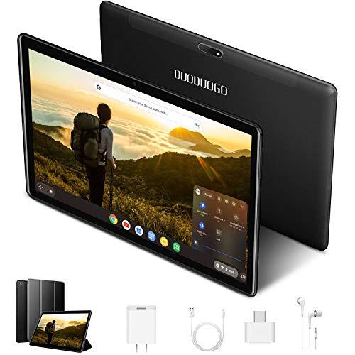 Tablet 10 Zoll 4G Android 9.0 Tablet PC 3GB RAM 32GB ROM / 128GB Erweiterung 8000mAh Dual SIM 8MP Kamera Vier Atomkamera Bluetooth / GPS / 4G / WiFi / OTG / Netflix (schwarz)