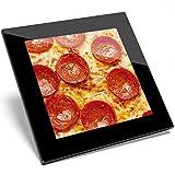 1 posavasos de cristal para pizza Pepperoni de Tasty, regalo de calidad para estudiantes de cocina #8440