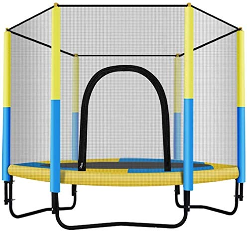 QIANSHI Umweltfreundliche Materialien Trampolin for Kinder Trampolin Heim Indoor Outdoor Mit Schutznetz Mini-Trampolin Bearing Gewicht Mehr Funktionen, mehr Spaß und sicherer