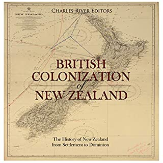The British Colonization of New Zealand audiobook cover art