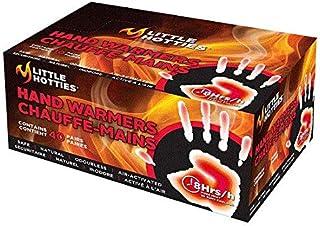 Little Hotties Hand Pocket Glove Warmers Winter Season Bulk Pack-40 Pairs, Black, Medium
