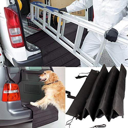 bangminda Auto Ladekantenschutz für Hund, Haustier Stoßstangenschutz, Universeller Kofferraum-Schutz und Stossstangen-Schutz Beim Auto-Transport Von Hunden, Kratzschutz Stoßstangenschutz Hund