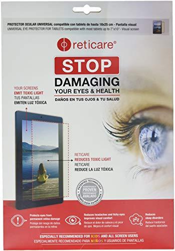 Reticare 352T-3500-B - Protector de ojos para tablets de 18 x 25...