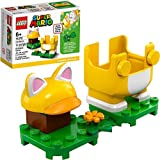 LEGO Super Mario Cat Mario Power-Up Pack 71372 Building Kit, Cool Toy for Kids to Power Up The Mario Figure in The Adventures with Mario Starter Course (71360) Playset, New 2020 (11 Pieces)