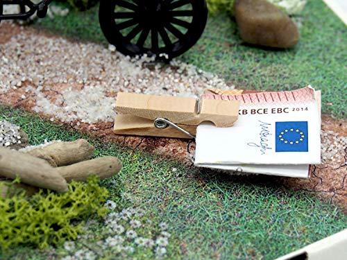 ZauberDeko Geldgeschenk Verpackung Geldverpackung Fahrrad Urlaub Weihnachten Geburtstag Mann - 6