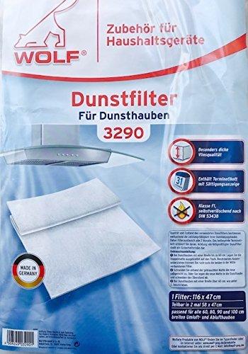 Wolf Staubsaugerbeutel Micropor , Zubehör (Wolf 3290)