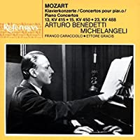 Piano Concerti 13, 15 & ,23