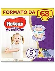 HUGGIES Pannolino Mutandina, Taglia 5 (12-17 Kg), Confezione da 68 Pannolini (2 x 34)