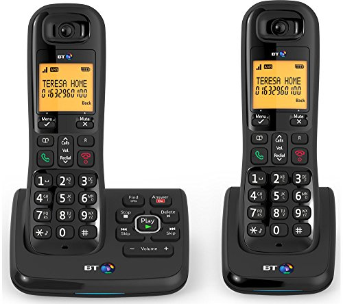 BT XD56 TWIN Cordless Phone with...