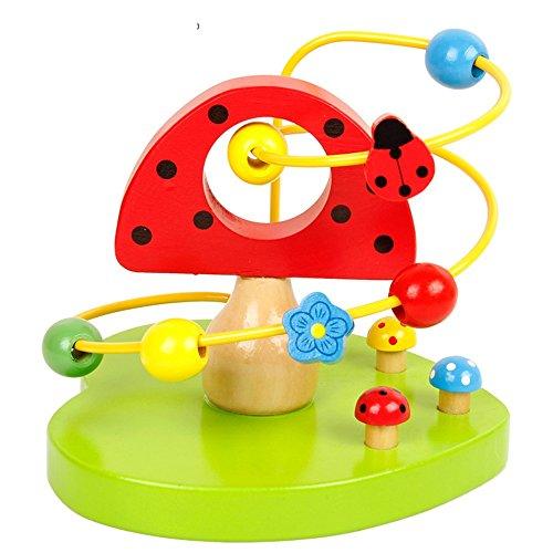 Jouets FEI Bébé Autour de Les Perles Building Blocks Baby Puzzle Perles des Lumières pour Enfants Début Éducation (Couleur : D)