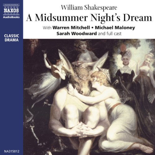A Midsummer Night's Dream (Dramatized) audiobook cover art