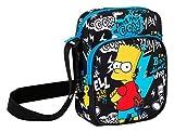 Safta The Simpsons Umhängetasche  schwarz