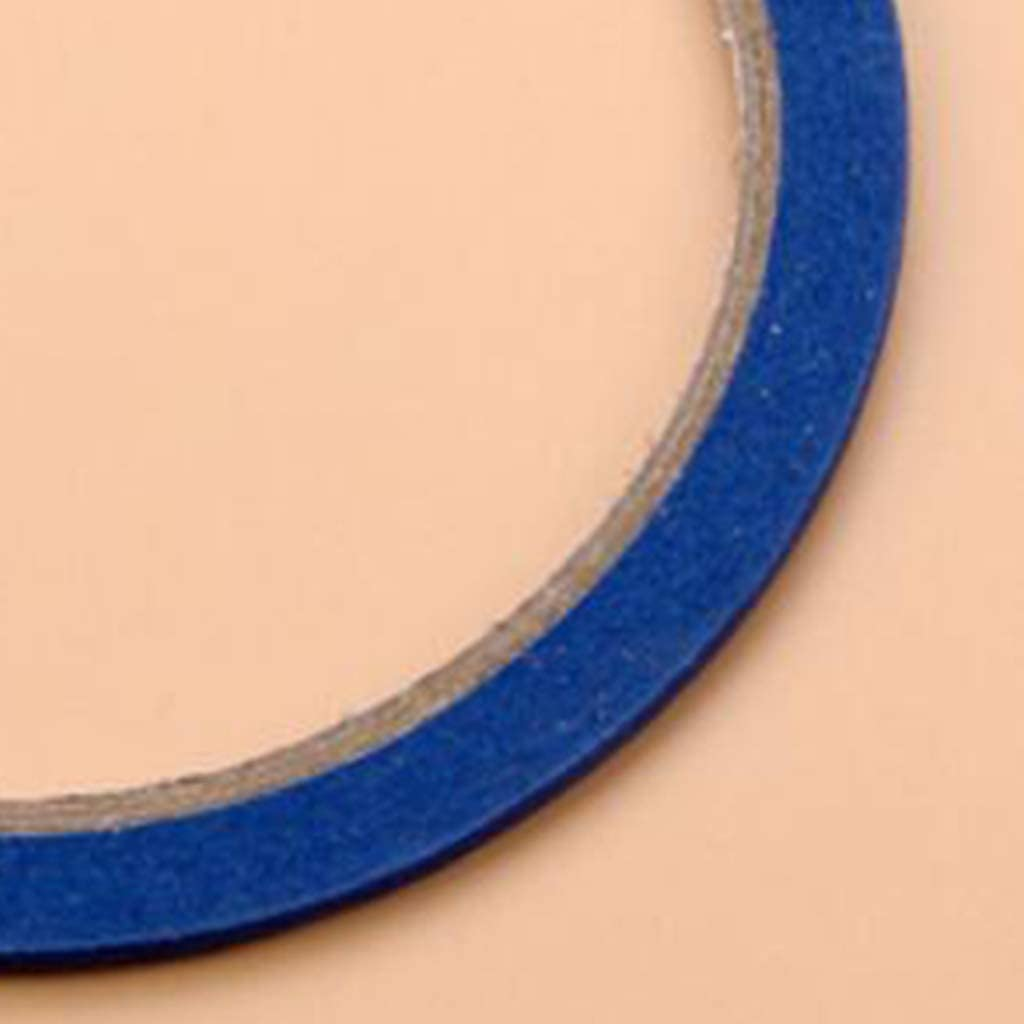 Blue 3mm x 20meters Esquirla 10x Draping Tape 3mm Mannequin Pattern Whiteboard Marking Tape Artist Dress Form