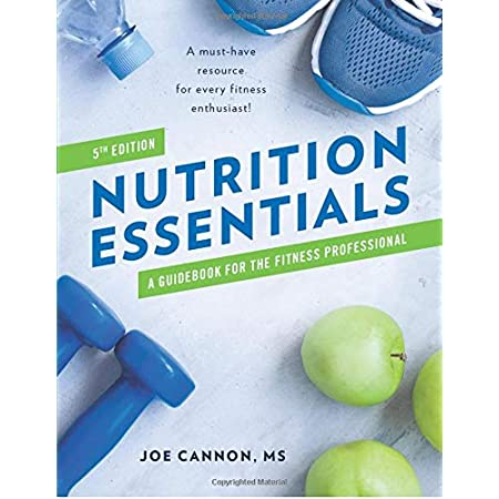fitness nutrition Nutrition Essentials: A Guidebook For The Fitness Professional