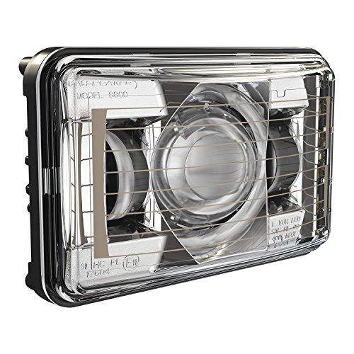 JW SPEAKER Led Headlight Heated 4X6 8800 Evoii