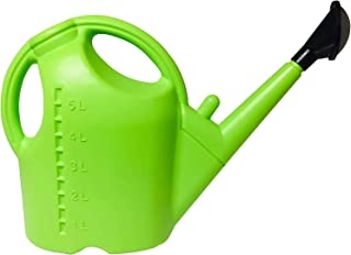 5L Plastic Watering Can for Gardening, Essential Lightweight Watering Can with Long Spout, 3- in-1 Detachable Sprinkler Ro...