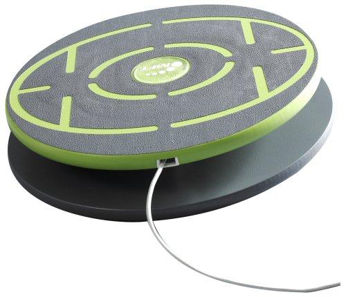 MFT Challenge Disc Balance Board aus Holz mit USB 3.0, Therapie Kreisel Anfänger und Profis, Kinder, Erwachsene und Senioren, Anti Rutsch Belag