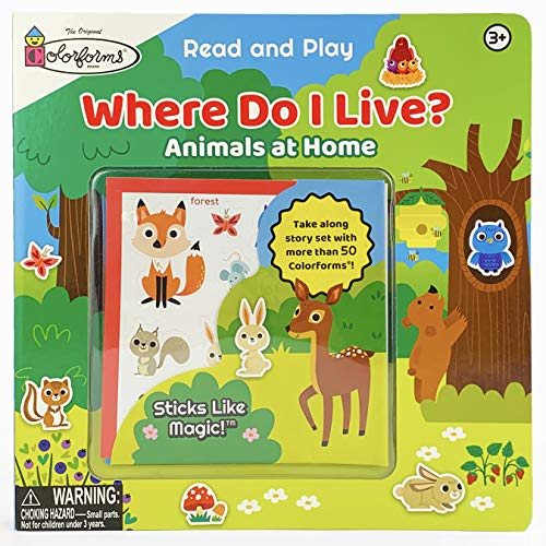 Colorforms Where Do I Live?: Animals and Their Homes (Colorforms Activity Books)