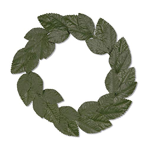 GREEN LAUREL WREATH - ROMAN FANCY DRESS (accesorio de disfraz)