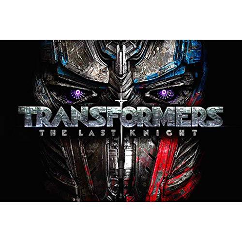puzzles Niños Optimus Prime Transformers 1000 Juguetes Educativos De Madera para Adultos Descompresión(Color:ES)