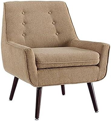 Amazon.com: Hebel Swoop Geometric Accent Chair   Model ...
