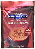 Ghirardelli Double Chocolate Premium Hot Cocoa, 10.5 Ounce -- 6 per...
