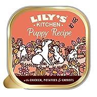 Lily's Kitchen Puppy Recipe with Chicken - Grain Free Puppy Wet Dog Food (10 Trays x 150 g)
