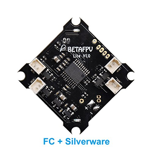 BETAFPV FPV FC Lite Brushed Flight Controller Compatible with Silverware Firmware for Tiny Whoop Quadcopter Beta65S Lite