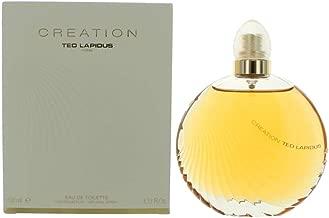Ted Lapidus Creation Eau de Toilette Spray for Women, 3.4 oz