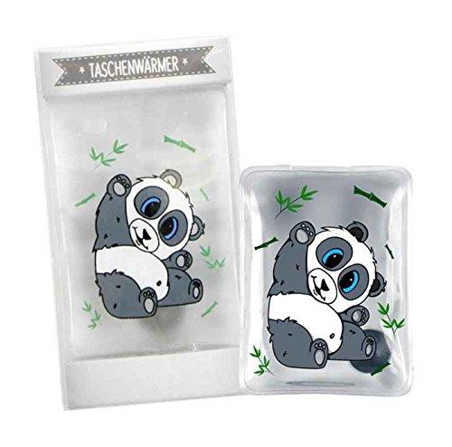 Taschenwärmer Panda - Wichtelgeschenk - Handwärmer - Taschenheizkissen