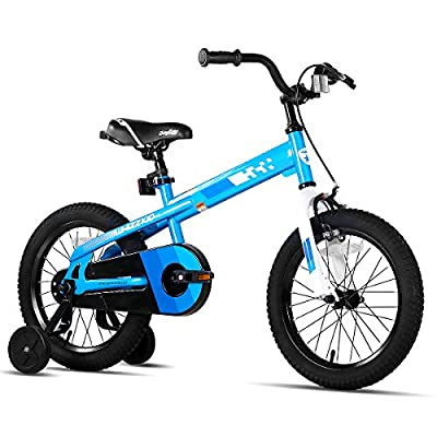 JOYSTAR Whizz Kids Bike with Training Wheels for Ages 2-9 Years Old Boys and Girls, 12 14 16 18 Toddler Bike with Handbrake for Children from JOYSTAR
