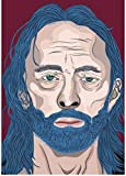 SHENGZI Canvas Poster Radiohead Poster Alternative Abstract